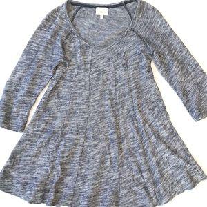 Anthropologie Deletta 3/4 Sleeve Sweater Top